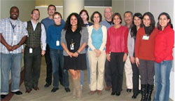 photo of visitors from the Latin American Pertussis Project
