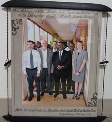 framed photo of mvpdb group