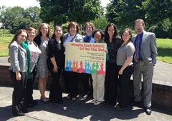 photo of Staff from CDC (NCIRD/HCSO and DBD) with members of the Washington State Department of Health