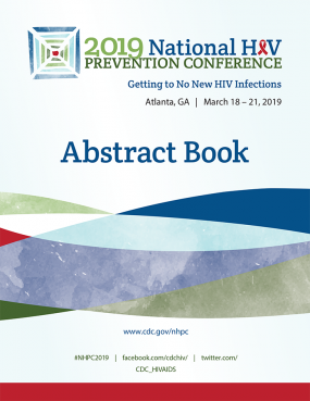 2019 National HIV Prevention Conference Abstract Book cover