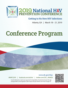 2019 National HIV Prevention Conference Program Book cover
