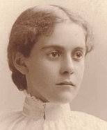 Alice Hamilton as a young woman