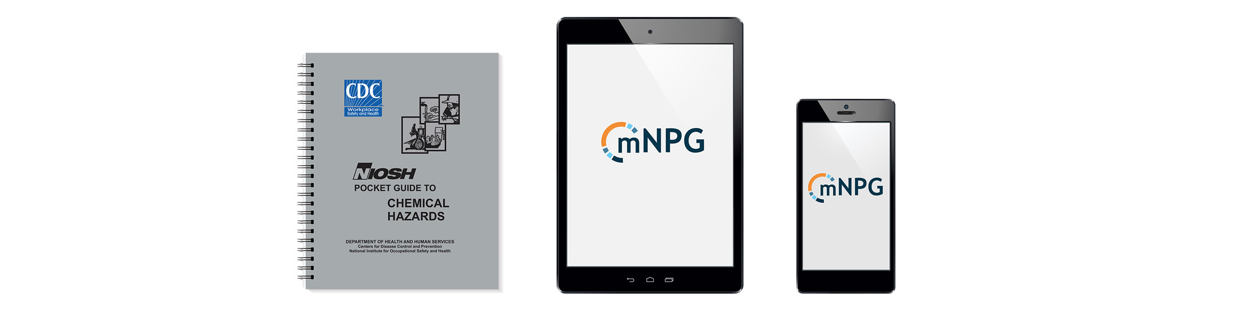 Pocket guide document, pocket guide app on tablet, and pocket guide app on mobile smart phone