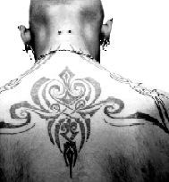 image of man's back with large tattoo