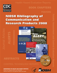 Cover of 2009-129 NIOSH Bibliography of Communication and Research Products 2008