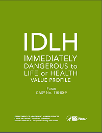 Cover shot of Immediately Dangerous to Life or Health Value Profile for Furan