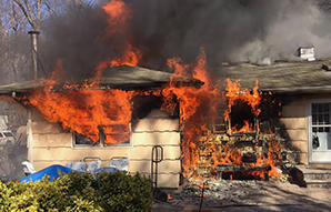 Residential fire in New York where tactics recommended by a NIOSH fire fighter fatality investigation report were used.