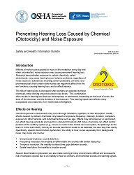 Preventing Hearing Loss Caused by Chemical (Ototoxicity) and Noise