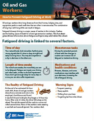 Oil and Gas Workers: How to Prevent Fatigued Driving at Work