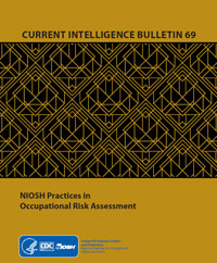 Cover page for publication 2020-106, Current Intelligence Bulletin 69 NIOSH Practices in Occupational Risk Assessment