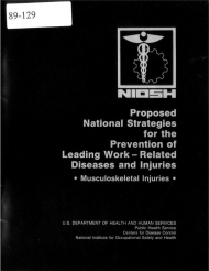 Title page of NIOSH Publication Number 89-129