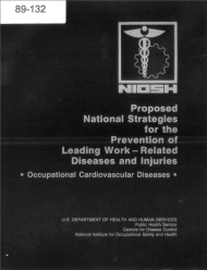 Title page of NIOSH Publication Number 89-132