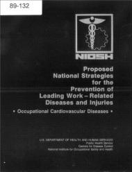 Title page of NIOSH Publication Number 89-132