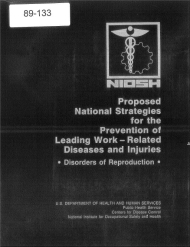 Title page of NIOSH Publication Number 89-133