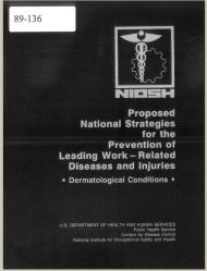 Title page of NIOSH Publication Number 89-136