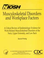 CDC - NIOSH Publications and Products - Musculoskeletal Disorders and