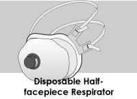 disposable half-facepiece respirator