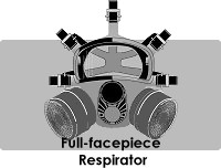 full-facepiece respirator