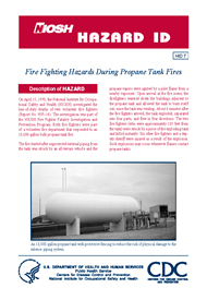 cover page - Hazard ID 7-Fire Fighting Hazards During Propane Tank Fires