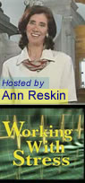 Image of Ann Reskin and Working With Stress Logo