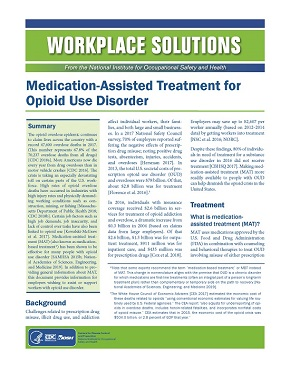 Medication-Assisted Treatment for Opioid Use Disorder - document number 2019-133