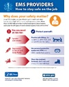 NEW Infographic—EMS Providers: How to Stay Safe on the Job