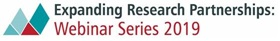 expanding research partnerships 2019 webinar series