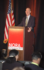 NIOSH Director Dr. John Howard welcomes NORA symposium attendees