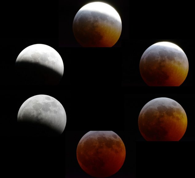 super blood wolf moon eclipse composite