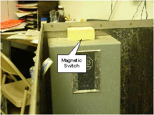 Magnetic switch.
