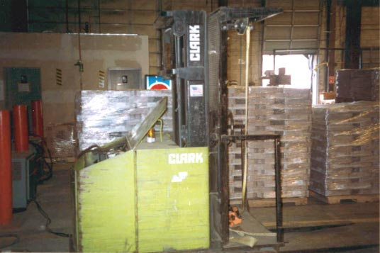Figure 2 - Operator-up High Lift Truck (Order picker) involved in the incident