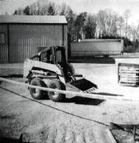 Skid-steer loader.