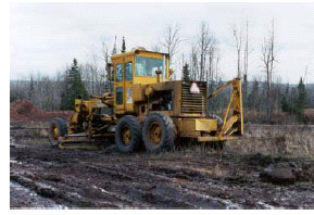 Photo of the grader