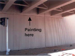 Figure 3. Painting Location
