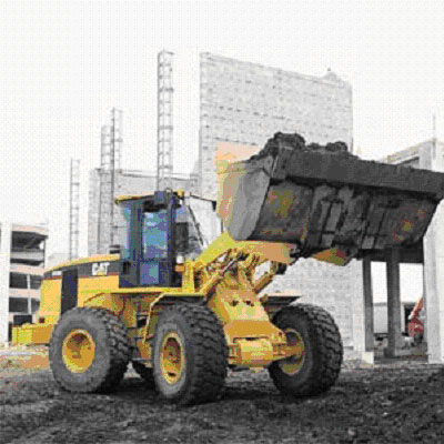 Exhibit 1. Picture of an articulating front-end loader        similar to the one involved in the incident.