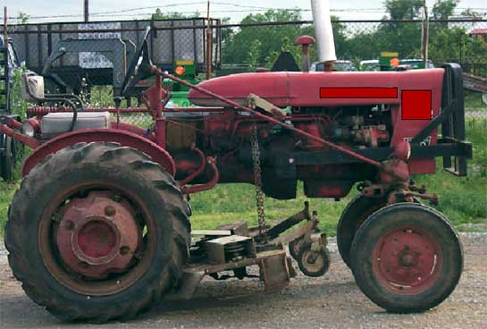 Picture of similar tractor involved in incident.