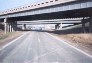 Figure 2. Road where incident took place