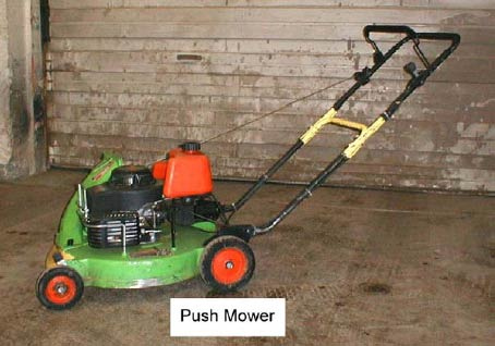Figure 2 Push mower