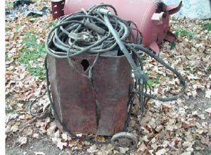 Figure 1.  Overall poor welder condition