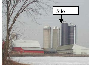 Photo 1 - Silo on farm