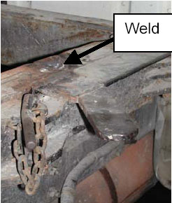 Figure 6.  Welded rail door.