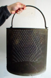 Photo 4.  Stainless Steel Basket
