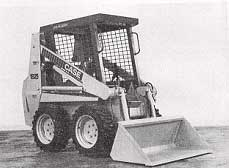 Figure 1. View of Skidsteer Loader from Operator's Manual.