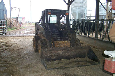 Borrowed skidsteer involved in fatality.