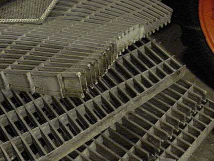 Figure 2 - Sections of the grating