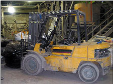 Photo 2. Identical Forklift Truck
