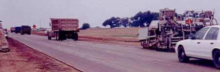 Figure 1. Photo of the Back of the Asphalt Truck