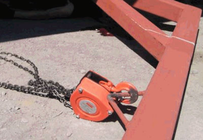 manual chain pulley
