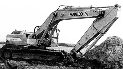Figure 1. Photo of Excavator Involved in Incident