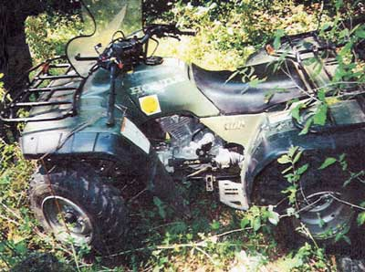 Figure 1. The ATV involved in the incident.